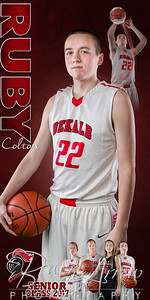 DHS Basketball Banner Colton Ruby