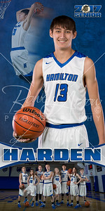 HHS BBall Jerico Harden Banner