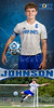 HHS Soccer Evan Johnson Banner
