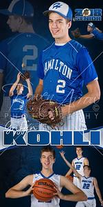 Griffin Kohli HHS 2018 Banner