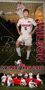 Ethan Wilson Soccer Banner