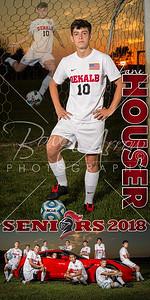 Zane Houser Soccer Banner