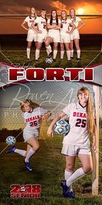 Rebekah Forti Soccer Banner