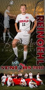 Tucker Reinoehl Soccer Banner