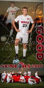 Josh Good Soccer Banner