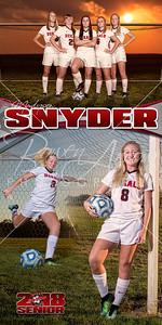 Madysen Snyder Soccer Banner