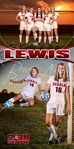 Faith Lewis Soccer Banner