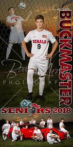 Carson Buckmaster Soccer Banner