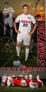 Robbie Dezayas Soccer Banner