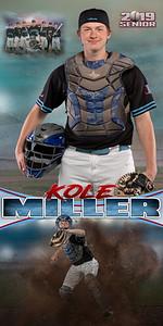 Baseball Kole Miller Banner