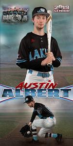 Baseball Austin Albert Banner