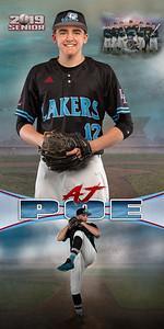 Baseball AJ Poe Banner