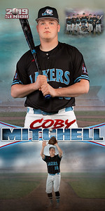 Baseball Coby Mitchell Banner