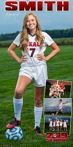 Kendyl Smith Soccer Banner