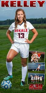 Bethany Kelley Soccer Banner