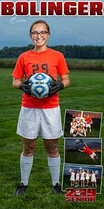 Erica Bolinger Soccer Banner
