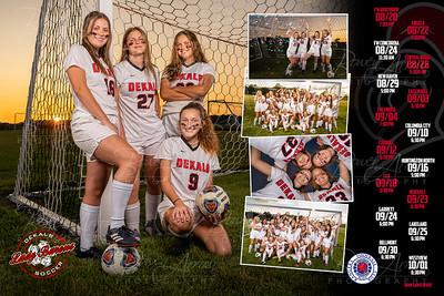 Dekalb Girls Soccer 2019 Poster Front