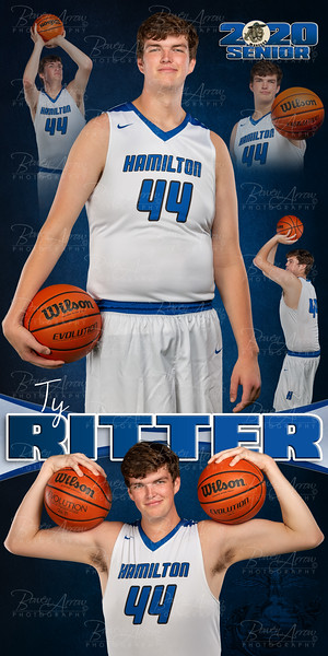 Ty Ritter HHS 2020 Banner