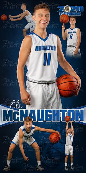 Eli McNaughton HHS 2020 Banner