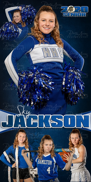 Sky Jackson HHS 2020 Banner