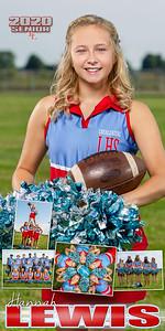 Cheer Hannah Lewis Banner
