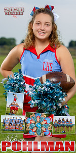 Cheer Addison Pohlman Banner