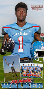 Football Kennie Walker Banner