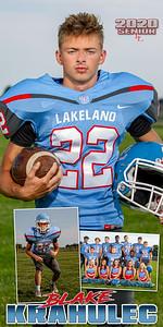 Football Blake Krahulec Banner