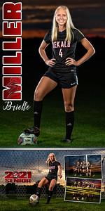 Brielle Miller Soccer Banner 01