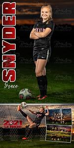Grace Snyder Soccer Banner 01