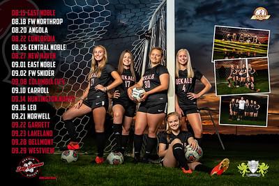 Dekalb Girls Soccer 2020 Poster Front 01