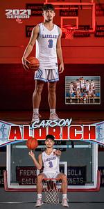 Boys BBall Carson Aldrich Banner