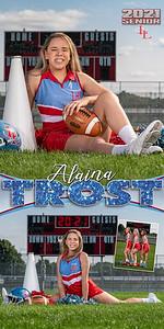 Cheer Alaina Trost Banner