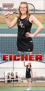 G Tennis Laura Eicher Banner