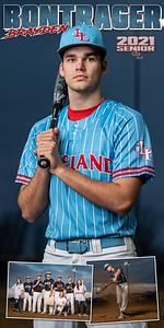 Baseball Brayden Bontrager Banner