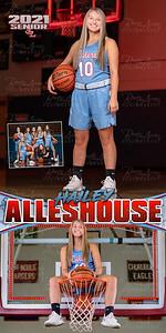 Girls BBall Hailey Alleshouse Banner