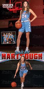 Girls BBall Bailey Hartsough Banner