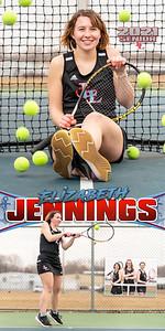 G Tennis Elizabeth Jennings Banner