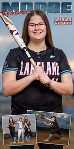 Softball Kendall Moore Banner