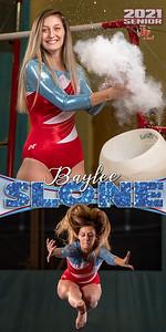 Gymnastics Baylee Slone Banner
