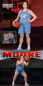 Girls BBall Kendall Moore Banner