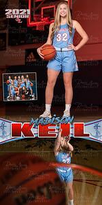 Girls BBall Madison Keil Banner