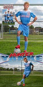 Soccer Hunter Yanke Banner