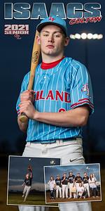 Baseball Colton Isaacs Banner