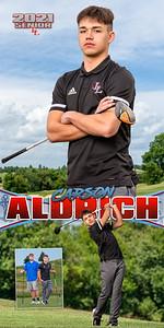 B Golf Carson Aldrich Banner