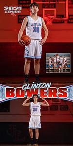 Boys BBall Clinton Bowers Banner