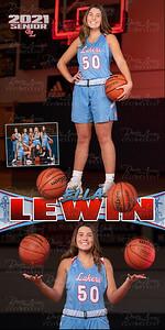 Girls BBall Ella Lewin Banner