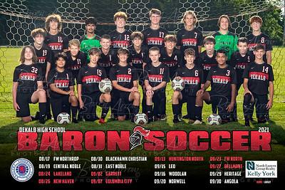 Dekalb Boys Soccer 2021 Poster Back 01