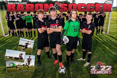 Dekalb Boys Soccer 2021 Poster Front 01