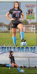 G Soccer Adria  Billman Banner